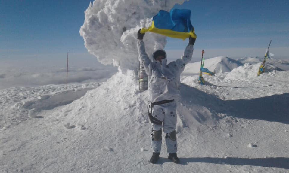 Ветерани АТО здолали зимову Говерлу (відео)
