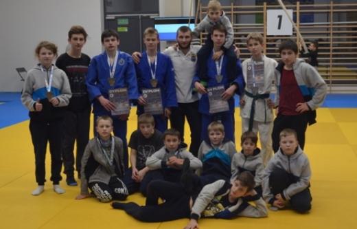 Юні дзюдоїсти з Ужгорода вибороли нагороди на міжнародному турнірі у Польщі