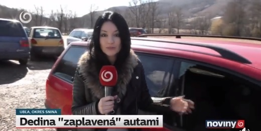 В Словаччині розкрадають євроавтівки залишені закарпатцями (відео)