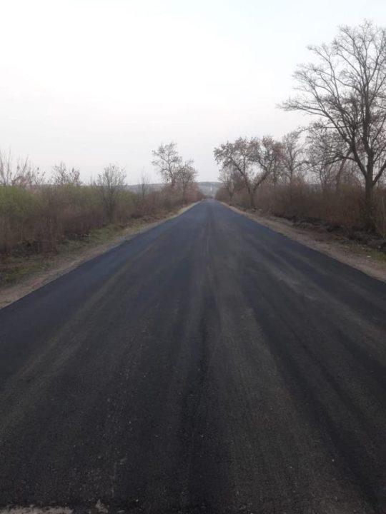 На Берегівщині триває капітальний ремонт дороги, що веде до держкордону з Угорщиною (ФОТО)
