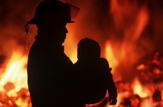 У пожежі на Берегівщині загинула дворічна дитина