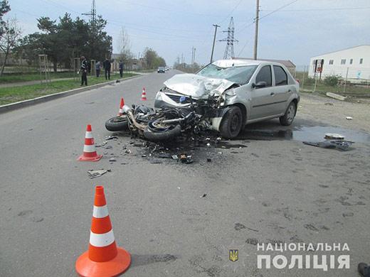 В Мукачеві під час ДТП постраждав неповнолітній мотоцикліст