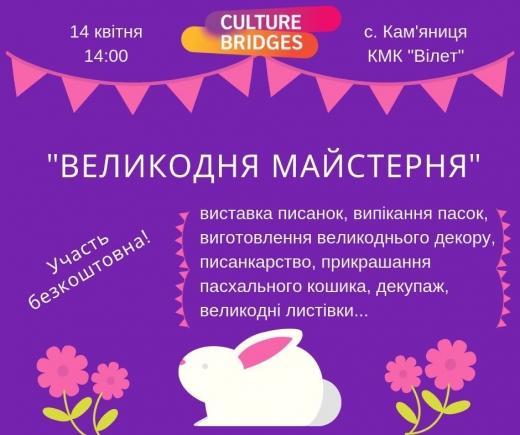 """На Ужгородщині проведуть """"Великодню майстерню"""""""