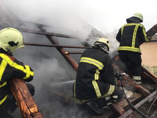 Пожежа у житловому будинку на Хустщині забрала життя людини
