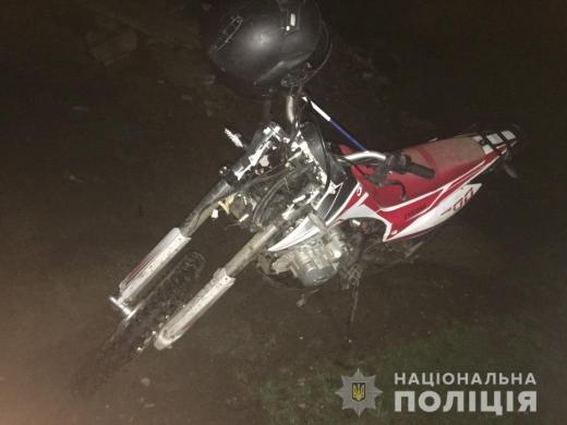 У Рахові з вини п'яного мотоцикліста загинув 14-річний хлопець, ще двох людей травмовано