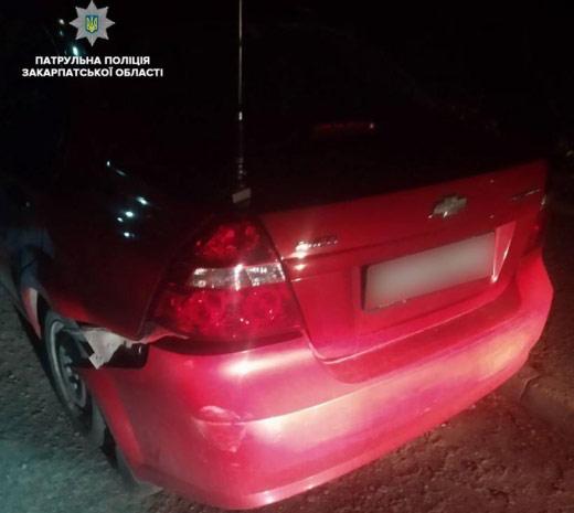 В Ужгороді водій сів за кермо із перевищенням допустимої норми алкоголю у 13 разів