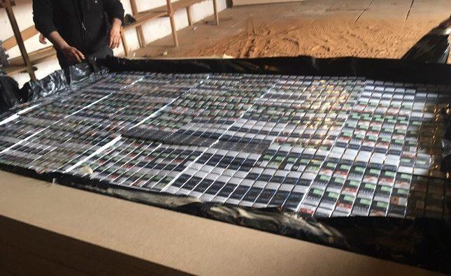 Закарпатські митники виявили крупну партію цигарок /фото/