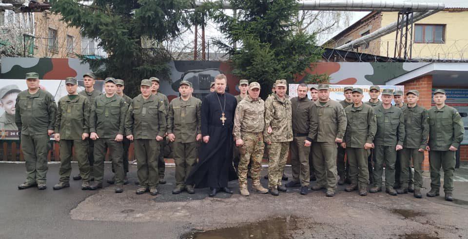 В Житомирському батальйоні НГУ пройшов патріотичний захід за участі закарпатців /фото/
