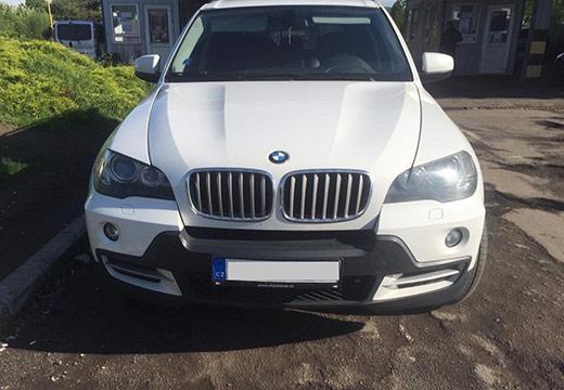 """У пункті пропуску """"Ужгород"""" прикордонники виявили BMW з підробленим номером кузова"""