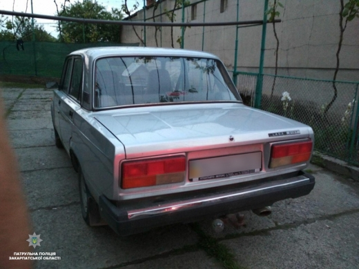Патрульні зупинили в Ужгороді водія із 3,22 проміле алкоголю в крові