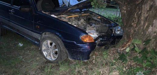 Нетвереза водійка врізалася у дерево на набережній в Ужгороді