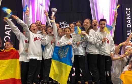 Юні танцюристи з Ужгорода стали першими на світових змаганнях