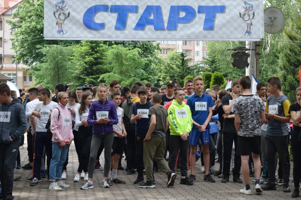 Всеукраїнський Олімпійський день відзначили в Ужгороді