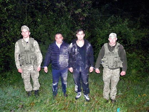 Двох нелегалів з Вірменії затримали на Закарпатті