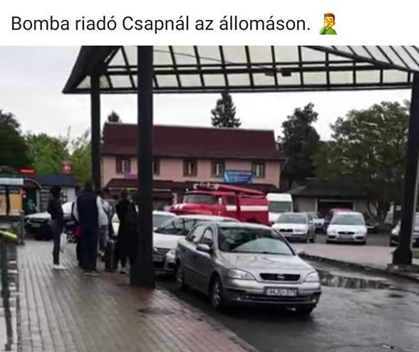 В Чопі фіктивно замінували вокзал