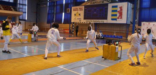 В Ужгороді офіційно стартував Міжнародний турнір з фехтування (ФОТО)