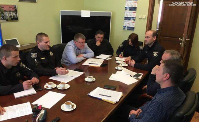 В Ужгороді силовики радились щодо впровадження законодавства про авто на іноземній реєстрації
