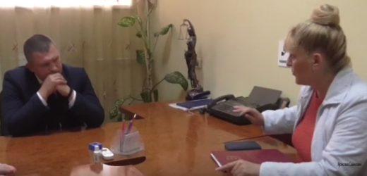 Закарпатська журналістка повідомила керівництву прокуратури області про бездіяльність одного з місцевих прокурорів (відео)