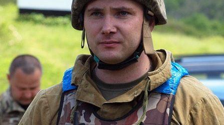 Закарпатці вітають з Днем народження підполковника Миколу Журавльова /відео/