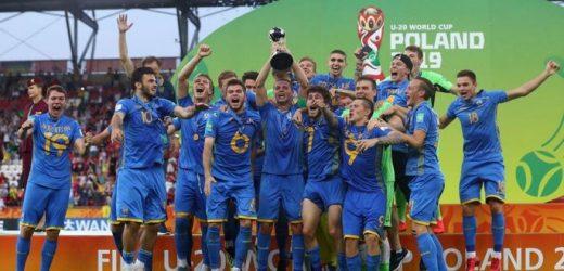 Україна здобула титул кращої команди світу з футболу серед 20-річних