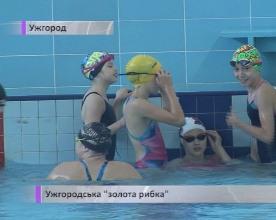 13-річна ужгородка виборола золото на Чемпіонаті України з плавання (ВІДЕО)