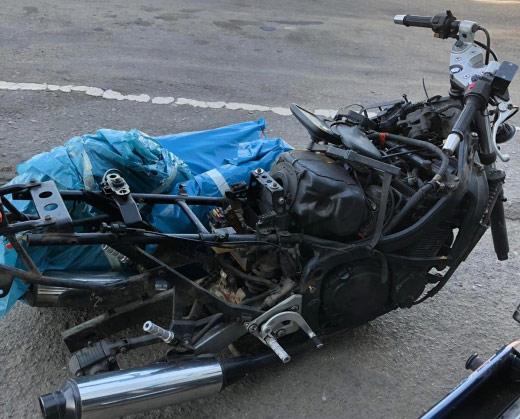 На митному посту «Ужгород» припинено незаконне ввезення в Україну двох мотоциклів