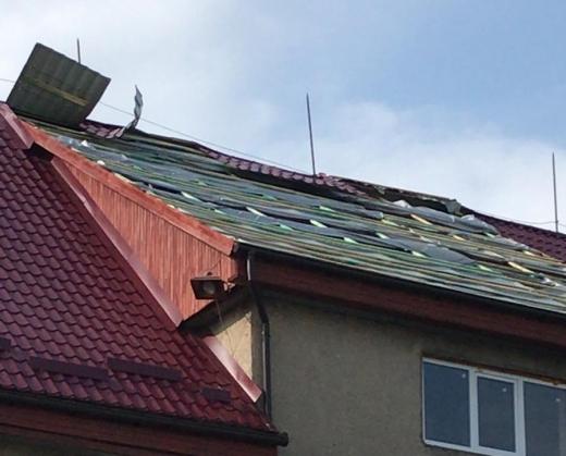 Від буревію постраждало кілька сіл на Берегівщині