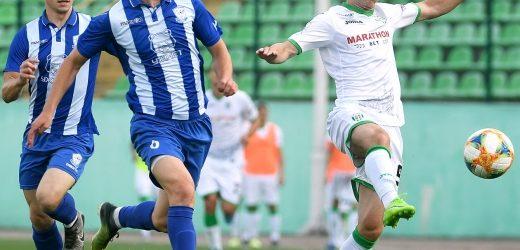 """Футбол: """"Минай"""" зустрівся із львівськими """"Карпатами"""" у товариському поєдинку"""