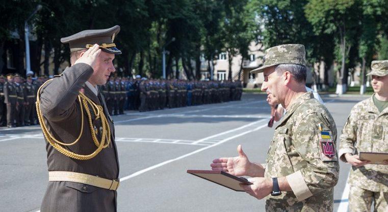 Ужгородець Микола Журавльов отримав звання полковника та успішно закінчив Національний університет оборони /фото/