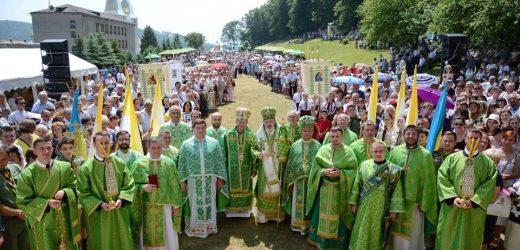 У Василіянському монастирі Малого Березного відслужили Архієрейську Божественну Літургію