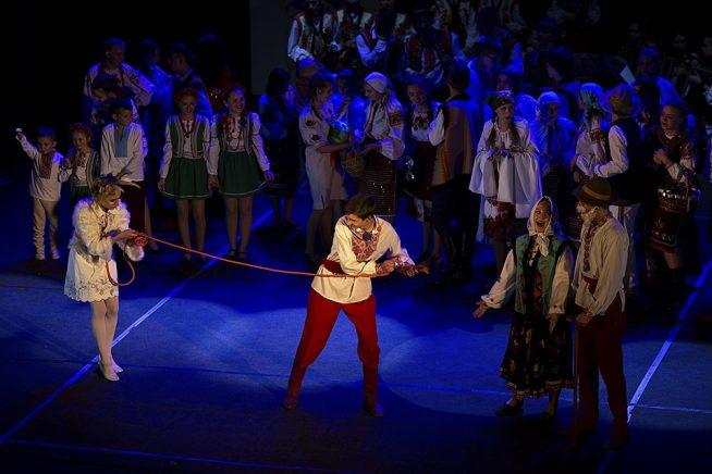 Ужгородський коледж культури і мистецтв здивує глядачів масштабним дійством