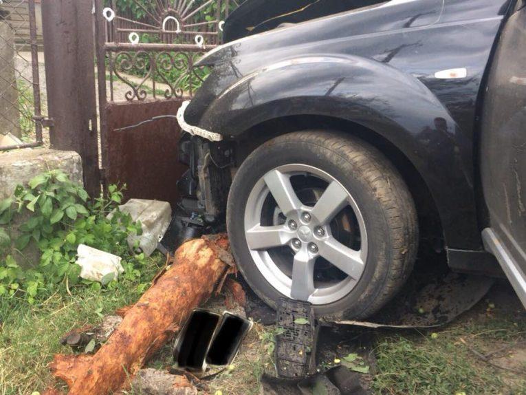 За фактом ДТП на Ужгородщині, в якій загинула дівчинка, поліція розпочала слідство