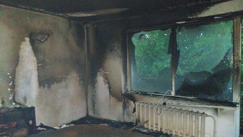 В один день на Ужгородщині горіли два житлових будинки