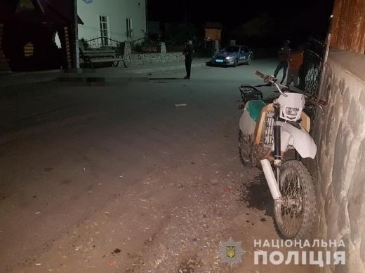 На Рахівщині загинув мотоцикліст, зіткнувшись з електроопорою