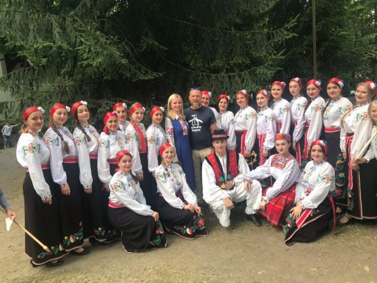 Ужгородський коледж культури і мистецтв зачарував чеських глядачів (відео)