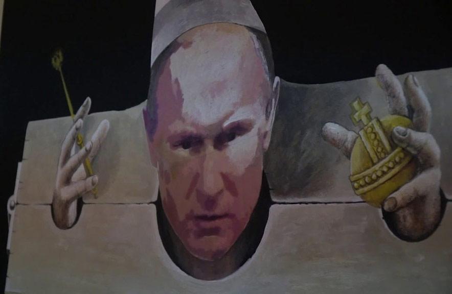 В Ужгороді проходить виставка сучасного плакатного мистецтва (ВІДЕО)