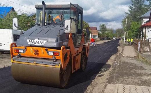 370 км доріг державного значення буде збудовано і відремонтовано на Закарпатті цього року (ВІДЕО)