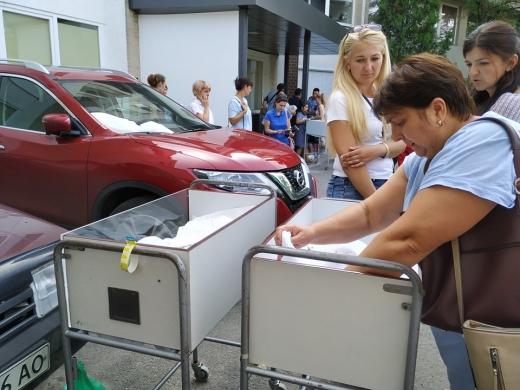 Через повідомлення про замінування в Ужгороді немовлята та породіллі опинилися на вулиці