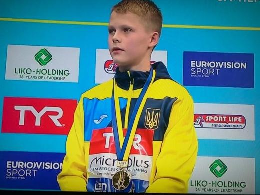13-річний українець став наймолодшим чемпіоном Європи зі стрибків у воду в історії