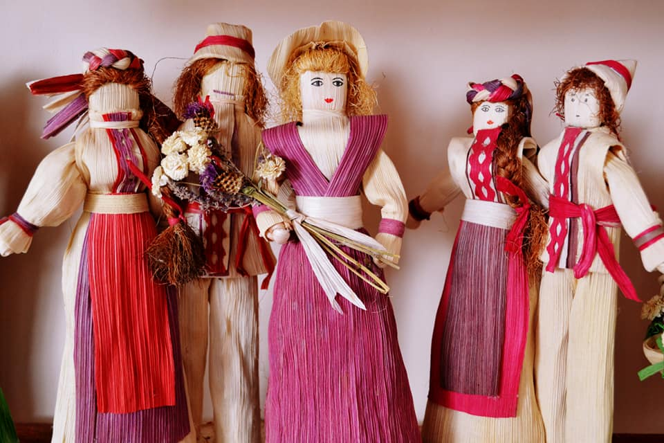 """Закарпатські майстрині представили свої роботи на виставці """"Натхненні лялькою"""""""
