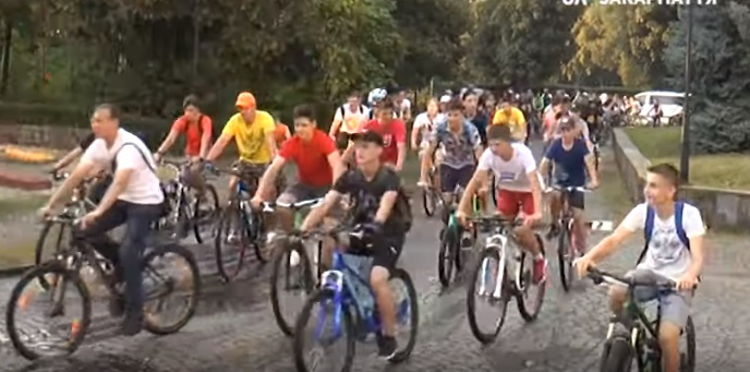 "Злива не стала на заваді учасникам ""Big City Ride"" в Ужгороді"