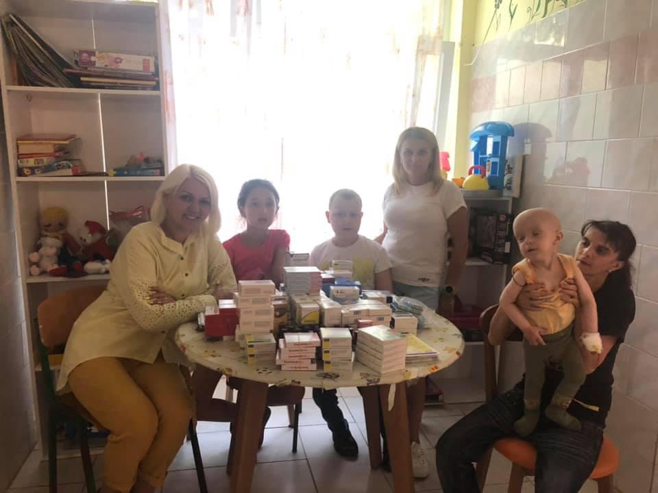 Звіт волонтерської спільноти Мукачева