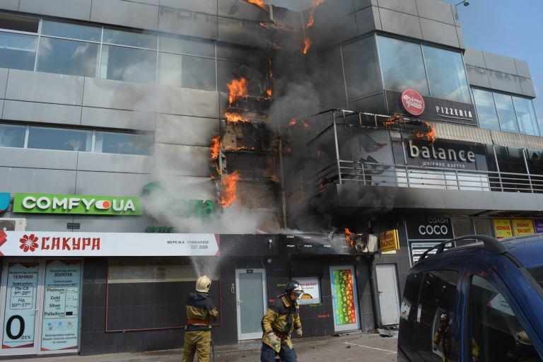 Рятувальники повідомили подробиці резонансної пожежі в Ужгороді