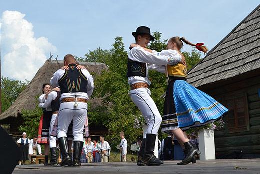 Фольклорний фестиваль словацької культури відбувся в Ужгороді