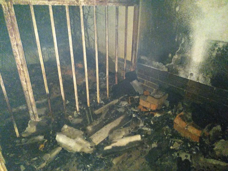 Рятувальники повідомили подробиці нічної пожежі в Ужгороді
