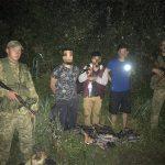 Закарпатські прикордонники знову затримали нелегальних мігрантів з Близького Сходу