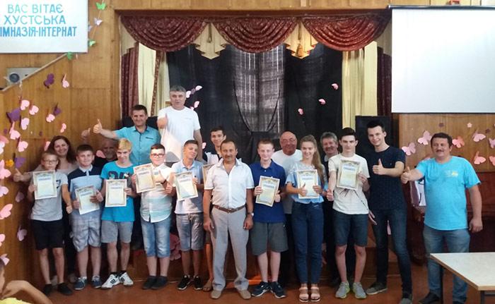 У Хусті завершилася Всеукраїнська учнівська школа з програмування
