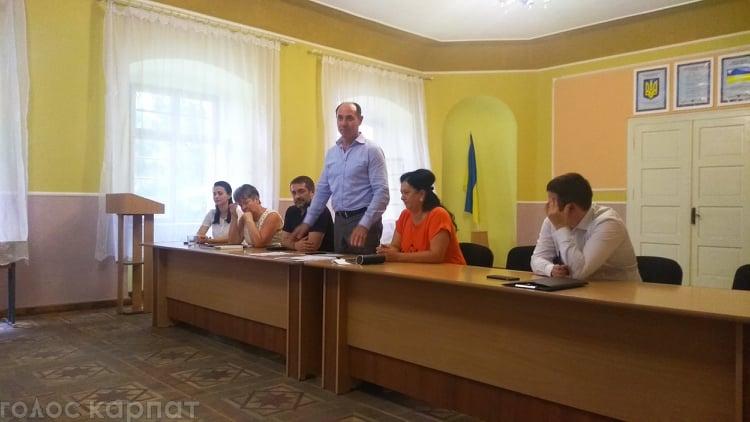 Прийнято рішення про реорганізацію управління освіти, молоді та спорту Виноградівської РДА