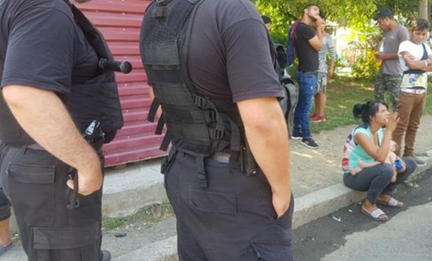 В Ужгороді затримали групу циган, які пограбували супермаркет