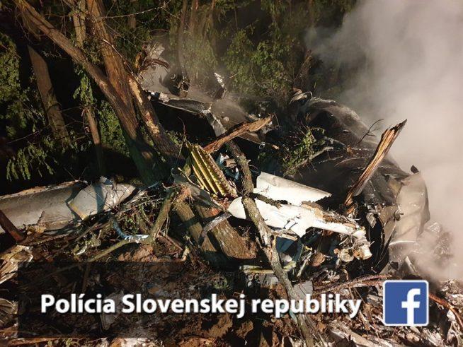 Винищувач МіГ-29 розбився у сусідній до Закарпаття Словаччині (відео)